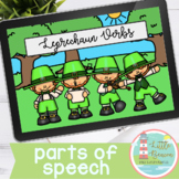 Leprechaun Verbs Boom Cards