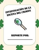 "Leprechaun Visit - ""Crime Scene Investigation"" (Bilingual)"