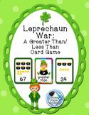 Leprechaun War: A Greater or Less Than Card Game