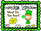 Leprechaun What Do You See? INTERACTIVE BOOK