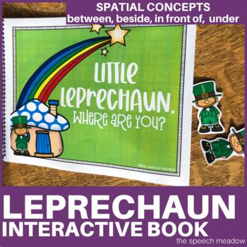 Leprechaun Where Are You? Preposition Interactive Book