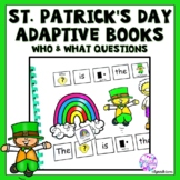 St. Patrick's Day And Leprechauns Adapted Books for Special Education
