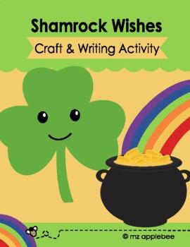 Leprechaun Wish Shamrock Craft & Poem