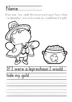 Leprechaun Worksheet