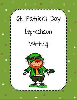 Leprechaun Writing