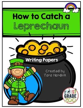 Leprechaun Writing by Tara Hardink