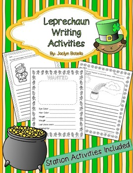 Leprechaun Writing Activities