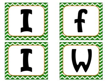 Bulletin Board Set: Leprechaun Writing Set