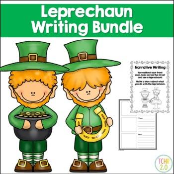 Leprechaun Writing Bundle Narrative How To Writing St. Pat
