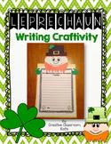 Leprechaun Writing Craftivity