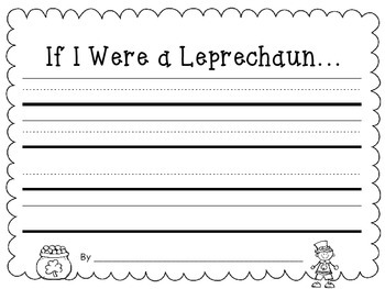 Leprechaun Writing Craftivity {St. Patrick's Day Craft}