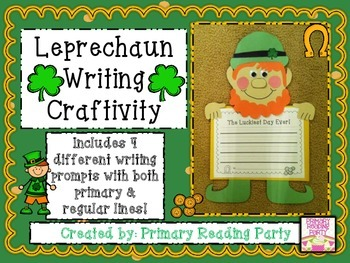 Leprechaun Writing Craftivity {St. Patrick's Day Craft}