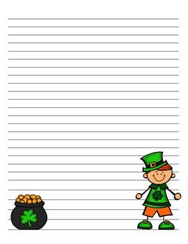 Leprechaun Writing Craftivity for St. Patrick's Day!!