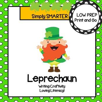 Leprechaun Writing Cut and Paste Craftivity