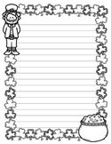 Leprechaun Writing Paper (St. Patrick's Day Stationary)
