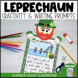 Leprechaun: Writing Prompts and Craftivity