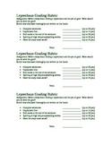Leprechaun Writing Rubric