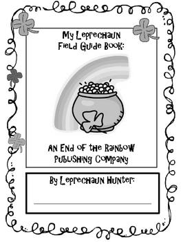Leprechaun Writing Workshop Booklet