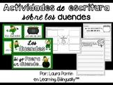 Leprechaun Writing in Spanish