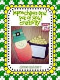 Leprechaun Craft and Pot of Gold Craftivity