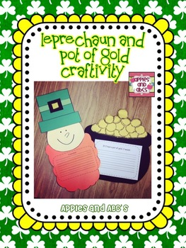 Leprechaun Craft and Pot of Gold Craftivity