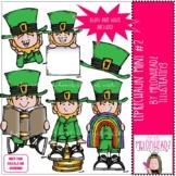 Leprechaun clip art - Set 2 - Mini - by Melonheadz Clipart