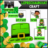 Leprechaun hat Vocabulary craft