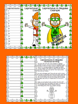 Leprechaun in Disguise St. Patrick's Day Inference Activity and More