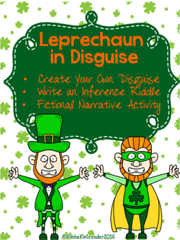 Leprechaun in Disguise St. Patrick's Day Inference Activit