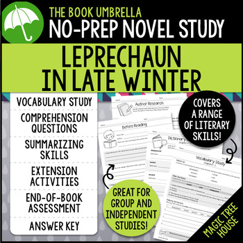 Leprechaun in Late Winter - Magic Tree House