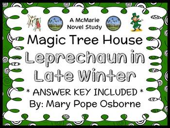 Leprechaun in Late Winter : Magic Tree House #43 Novel Study / Comprehension