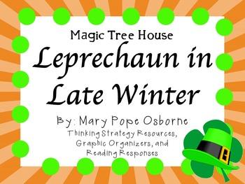 Leprechaun in Late Winter by Mary Pope Osborne:  A Complete Literature Study!