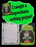 Catch a Leprechaun in a jar writing and craft.