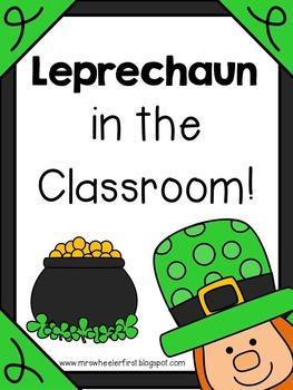 First Grade Leprechaun Activities