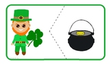 Leprechaun numbers matching - St.Patrick's Day