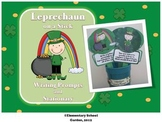Leprechaun on a Stick - St. Patrick's Day Writing Prompts and Stationary