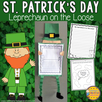 St. Patrick's Day Activity Leprechaun on the Loose