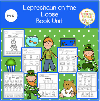 Leprechaun on the Loose Book Unit