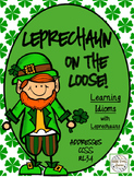 St. Patrick's Day - Leprechaun Idiom Classbook and Literac