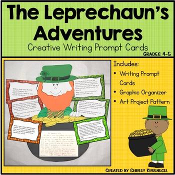 Leprechaun St. Patrick's Day Adventures {Craftivity}
