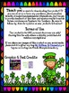 Leprechaun's Colorful St. Patrick's Day Shamrocks!  Color & Counting Reader!