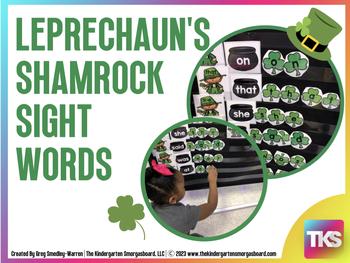 Leprechaun's Shamrock Sight Words