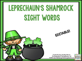 Leprechaun's Gold Editable Sight Words