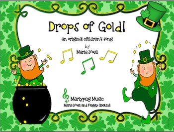 Leprechaun Song St Patricks Day Game Gold Coin
