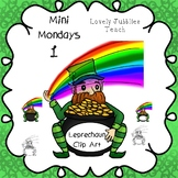 Leprechaun with a Pot of Gold Clip Art