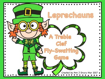 Leprechauns - A Treble Clef Fly-Swatting Game