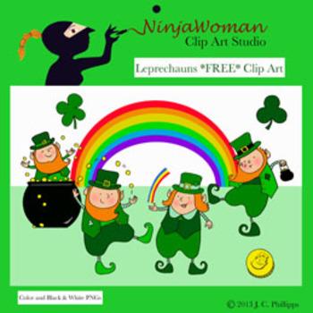 Leprechauns *FREE* Clip Art