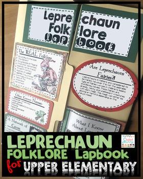 Leprechauns  - Folklore Lapbook!