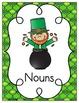 Leprechaun's Gold Nouns and Verbs {Freebie!}