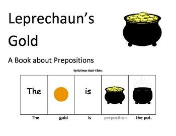 Leprechaun's Gold Preposition Book